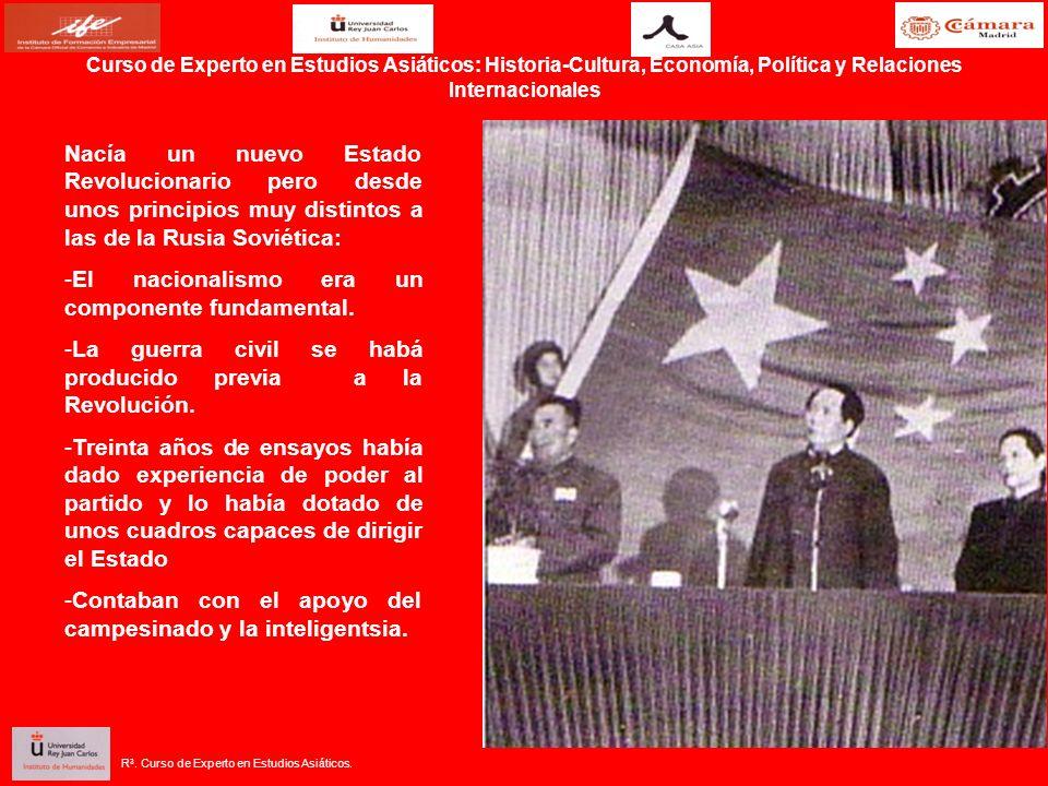 El nacionalismo era un componente fundamental.