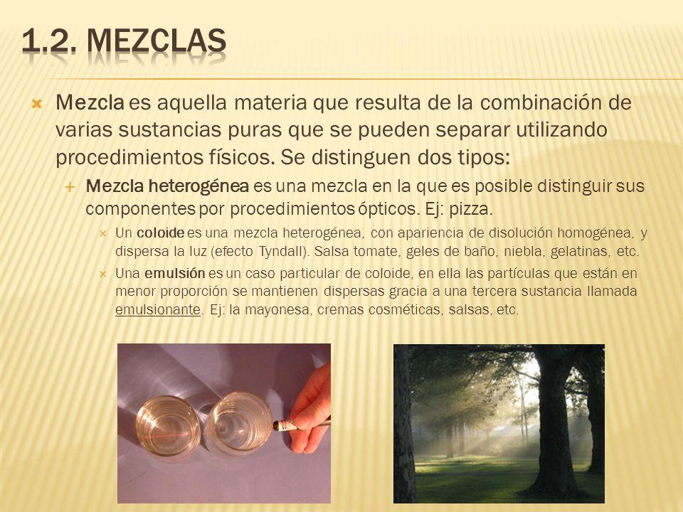 1.2. Mezclas