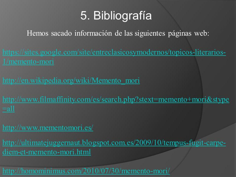 Hemos sacado información de las siguientes páginas web: