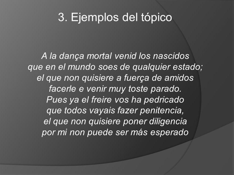 3. Ejemplos del tópico