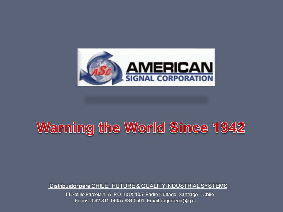 Warning the World Since 1942
