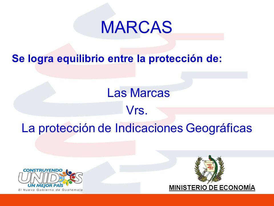 La protección de Indicaciones Geográficas