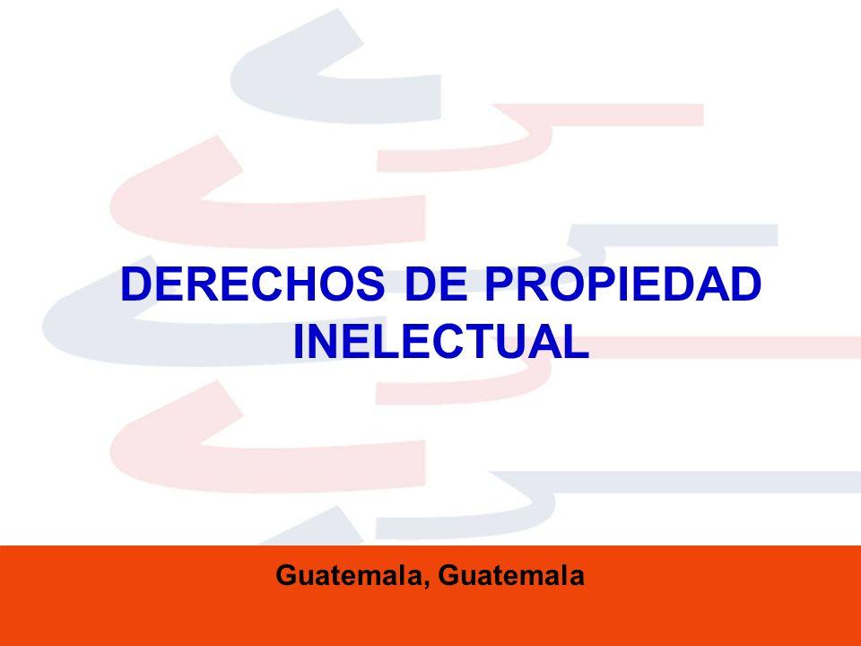 DERECHOS DE PROPIEDAD INELECTUAL