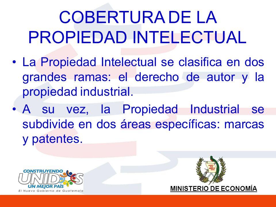 COBERTURA DE LA PROPIEDAD INTELECTUAL