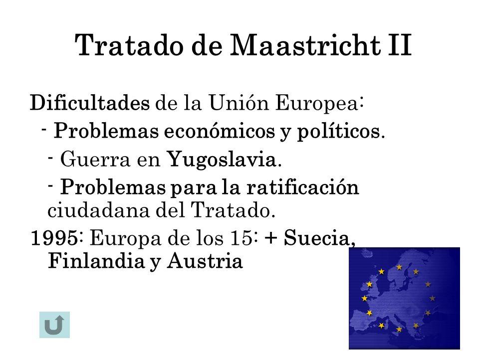 Tratado de Maastricht II