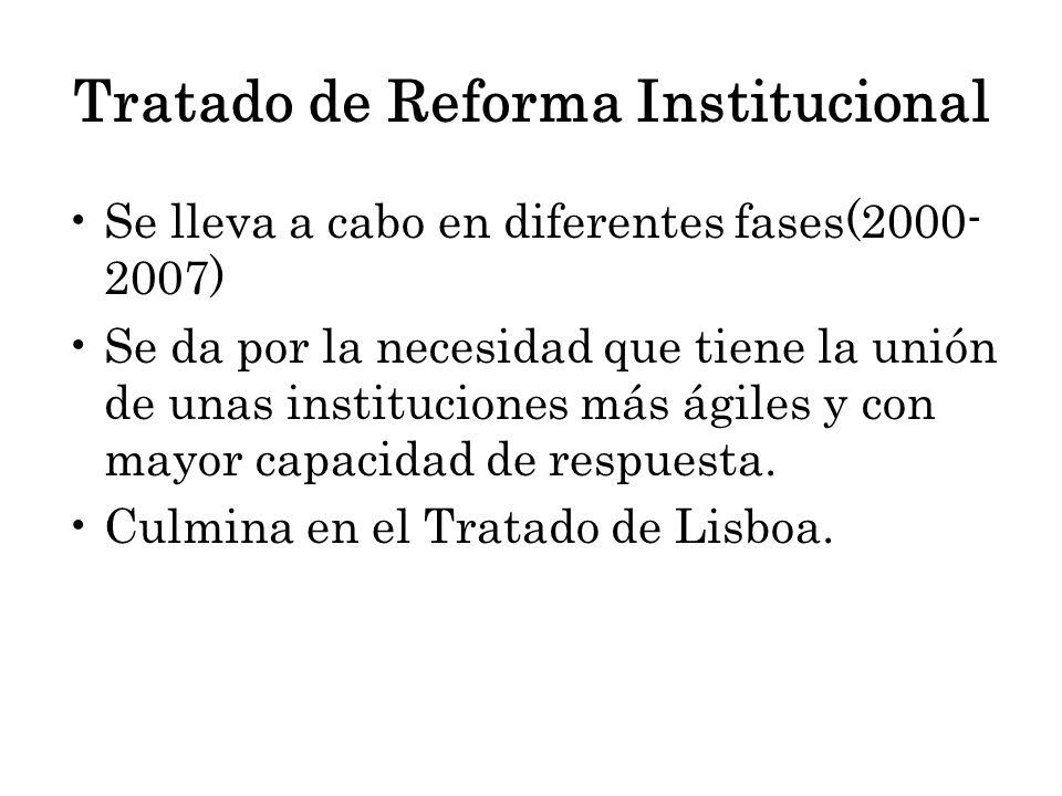Tratado de Reforma Institucional