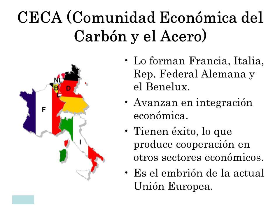 CECA (Comunidad Económica del Carbón y el Acero)