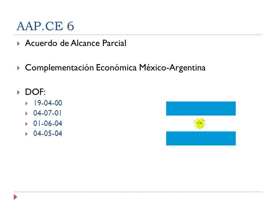 AAP.CE 6 Acuerdo de Alcance Parcial