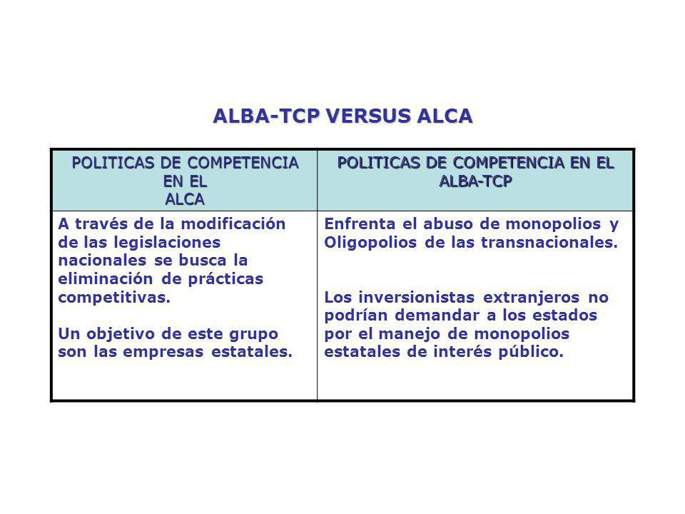 POLITICAS DE COMPETENCIA EN EL