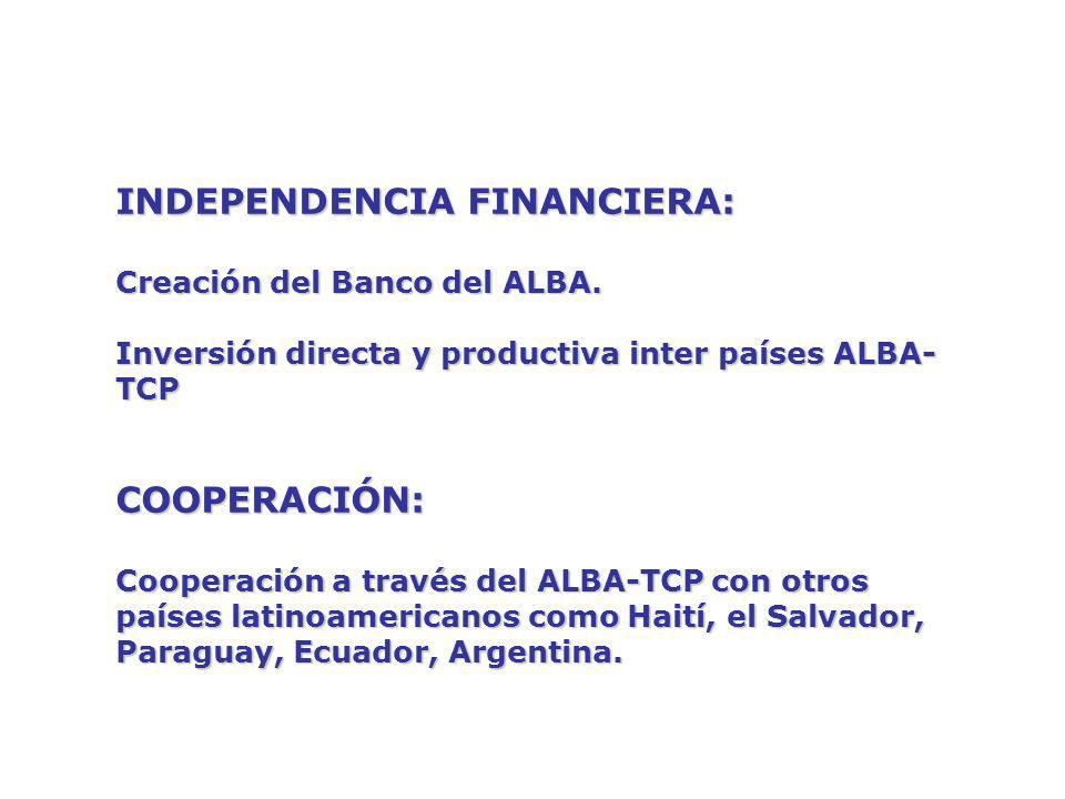INDEPENDENCIA FINANCIERA:
