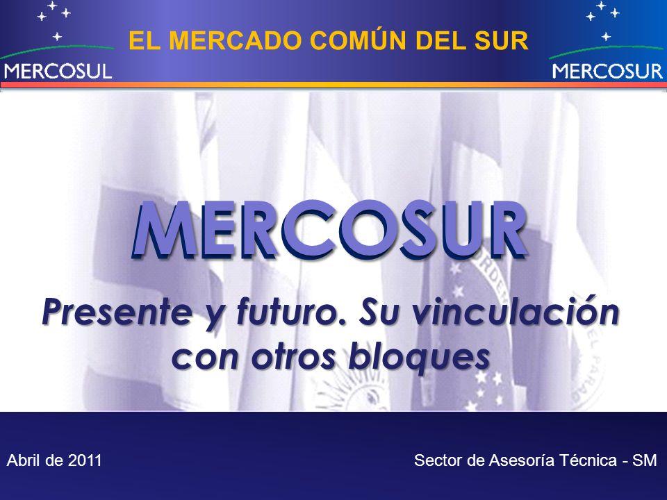 MERCOSUR MERCOSUR Presente y futuro. Su vinculación con otros bloques