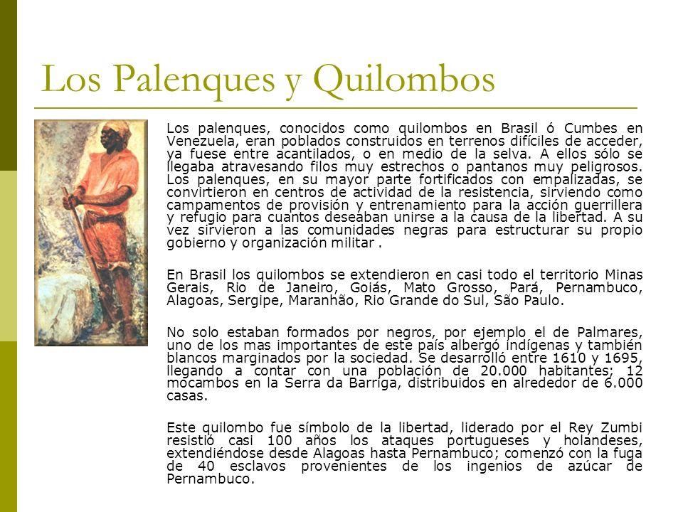 Los Palenques y Quilombos