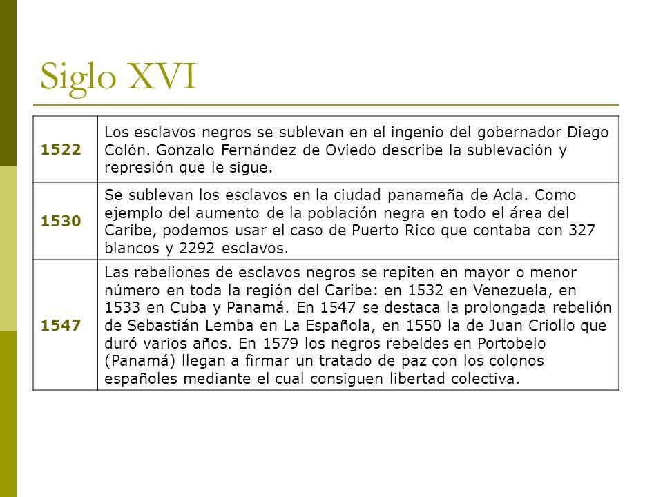 Siglo XVI 1522.