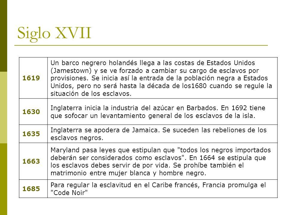 Siglo XVII 1619.