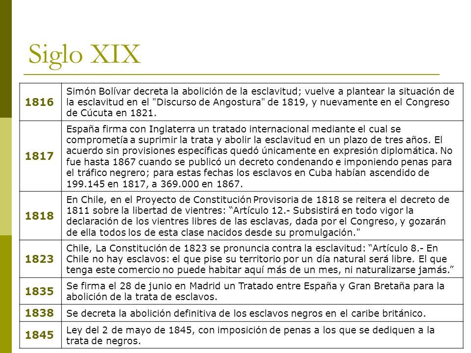 Siglo XIX 1816.