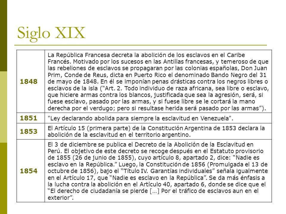 Siglo XIX 1848.