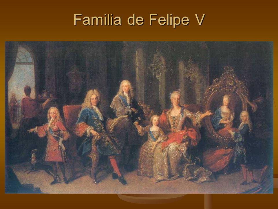 Familia de Felipe V