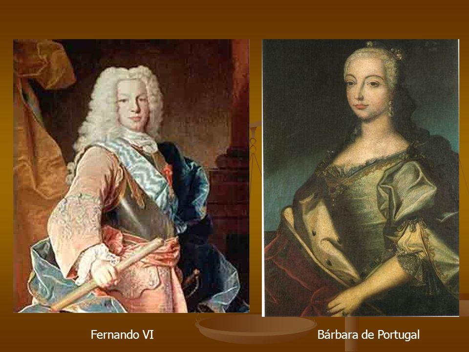 Fernando VI Bárbara de Portugal