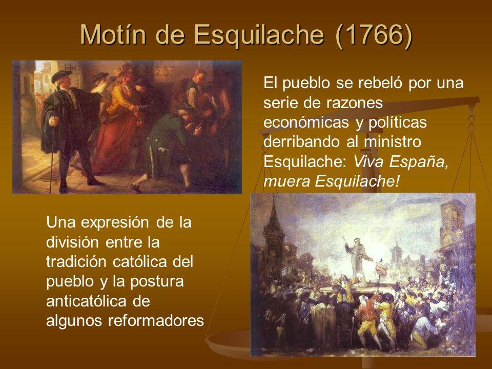 Motín de Esquilache (1766)