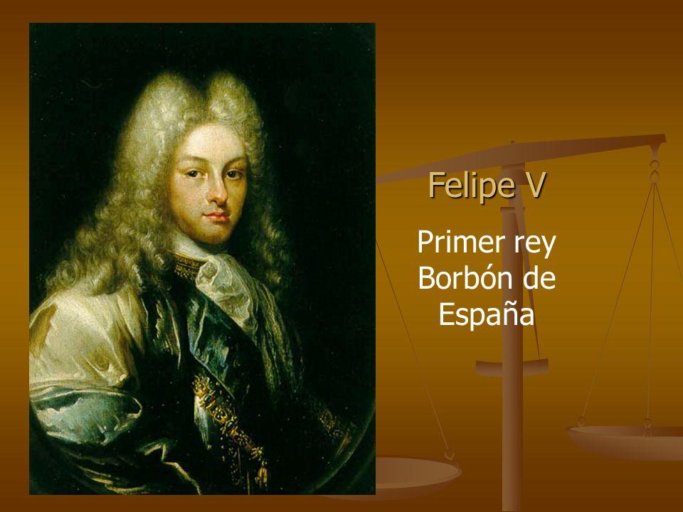 Primer rey Borbón de España