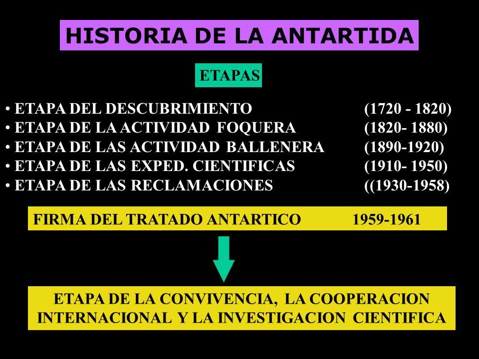 HISTORIA DE LA ANTARTIDA