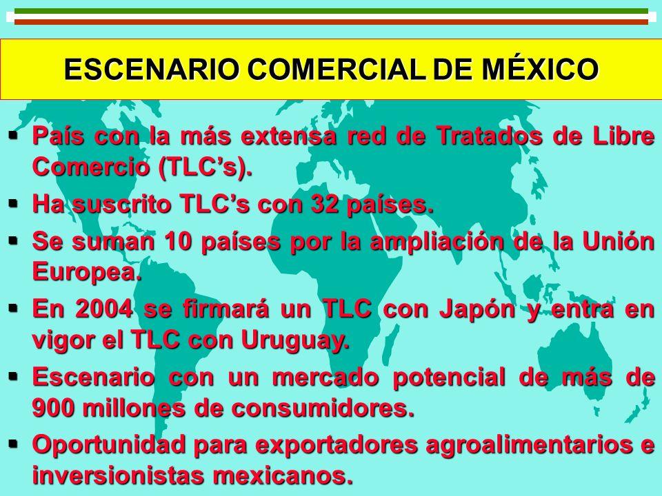 ESCENARIO COMERCIAL DE MÉXICO