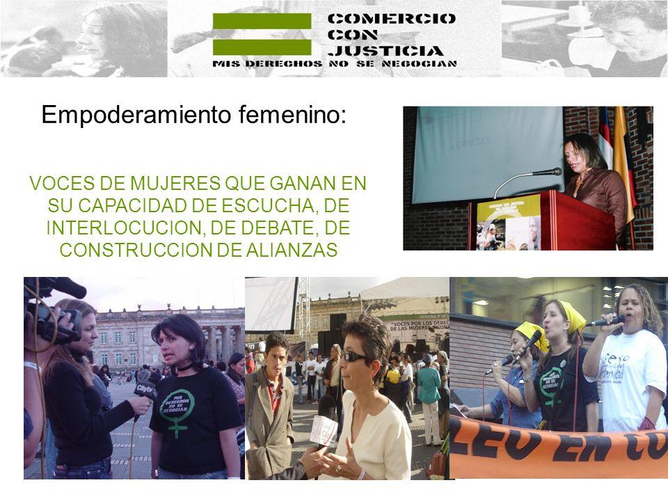 Empoderamiento femenino: