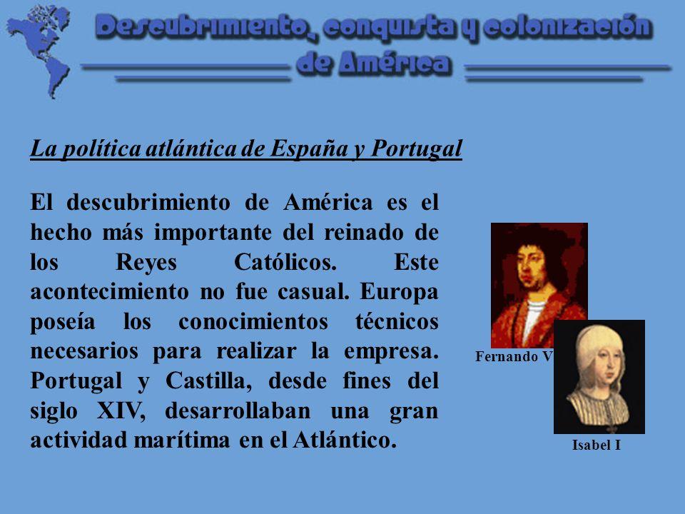 La política atlántica de España y Portugal