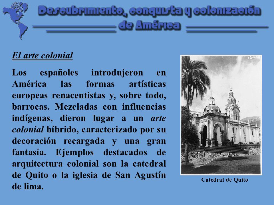 El arte colonial