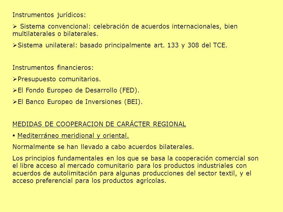 Instrumentos jurídicos: