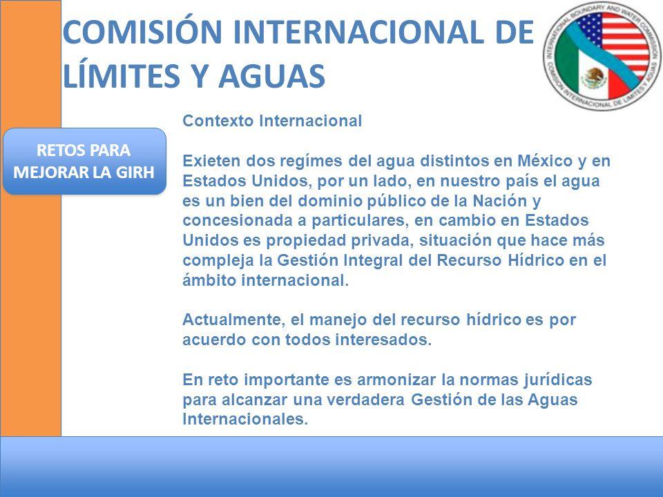 COMISIÓN INTERNACIONAL DE LÍMITES Y AGUAS