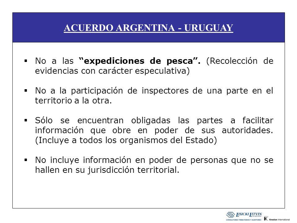 ACUERDO ARGENTINA - URUGUAY