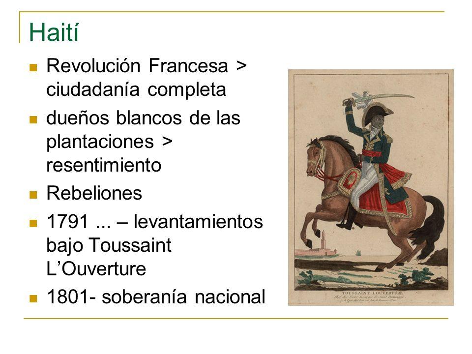 Haití Revolución Francesa > ciudadanía completa
