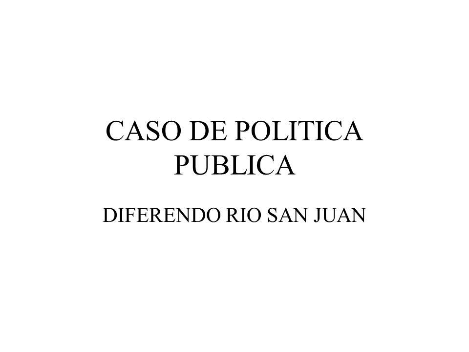 CASO DE POLITICA PUBLICA