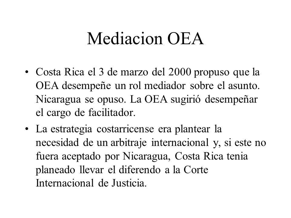 Mediacion OEA