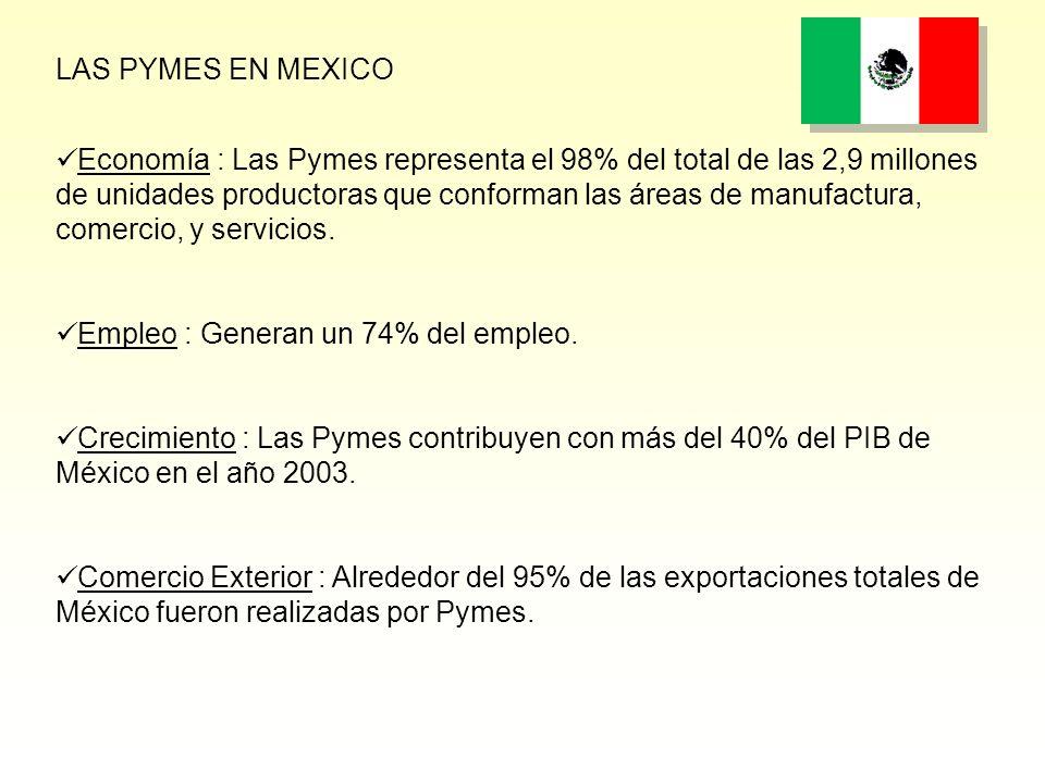 LAS PYMES EN MEXICO