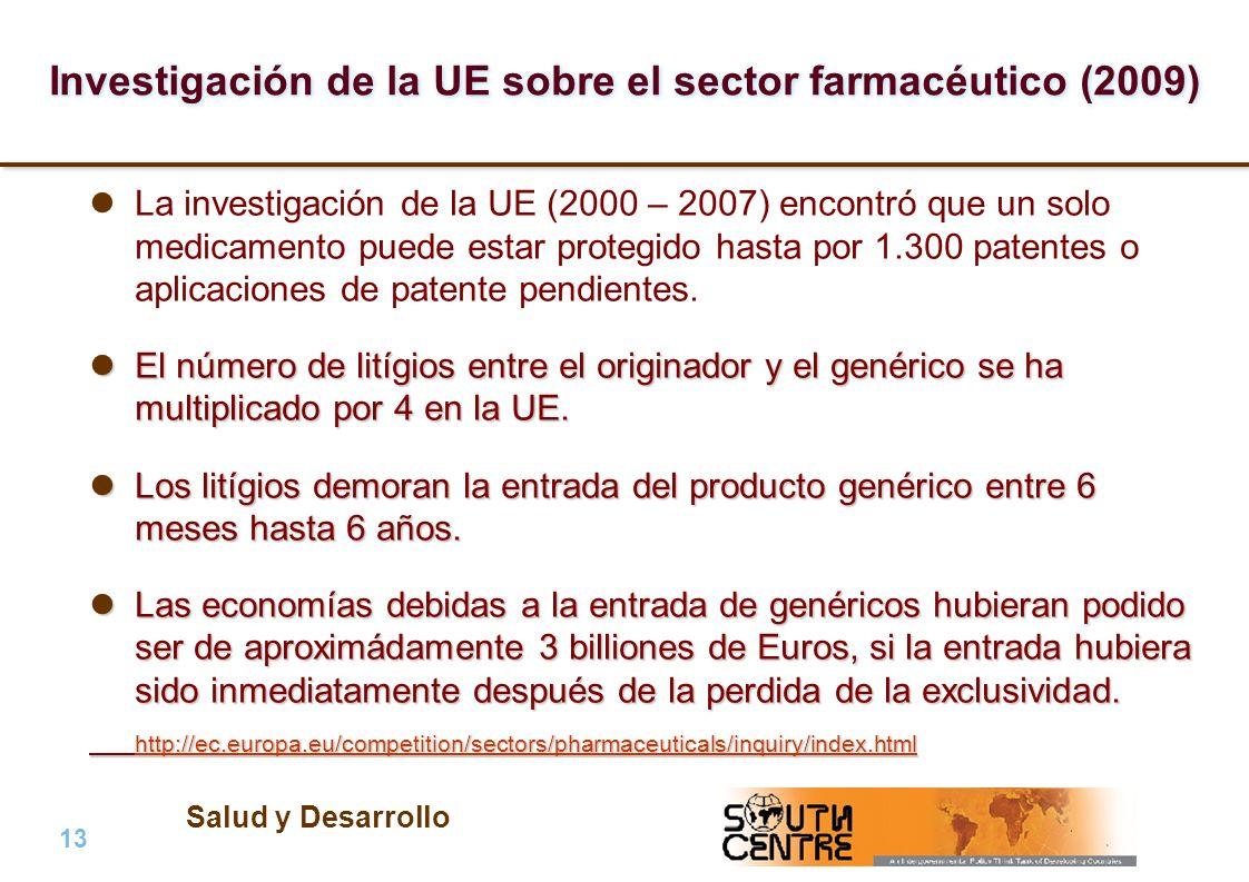 Investigación de la UE sobre el sector farmacéutico (2009)