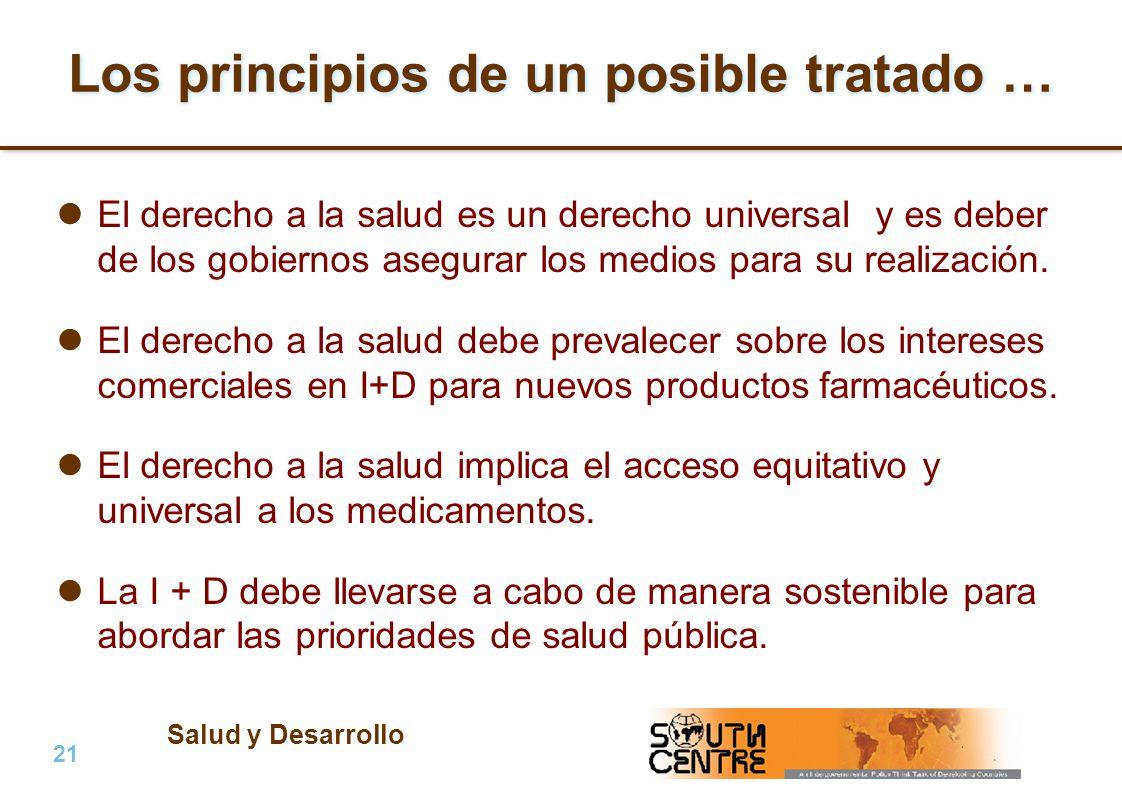 Los principios de un posible tratado …