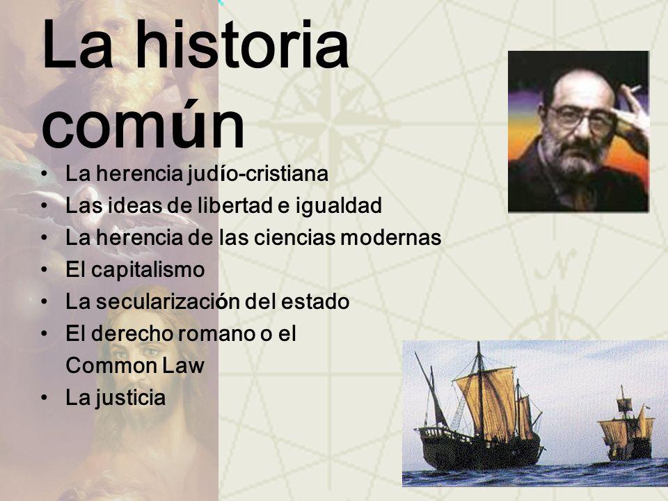 La historia común La herencia judío-cristiana