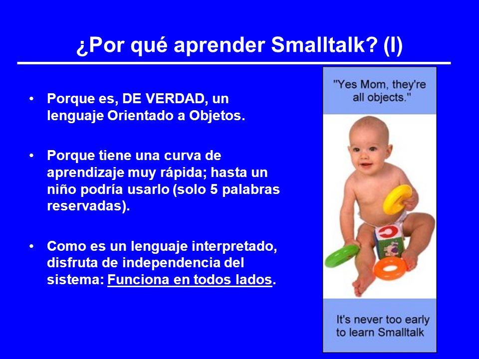 ¿Por qué aprender Smalltalk (I)
