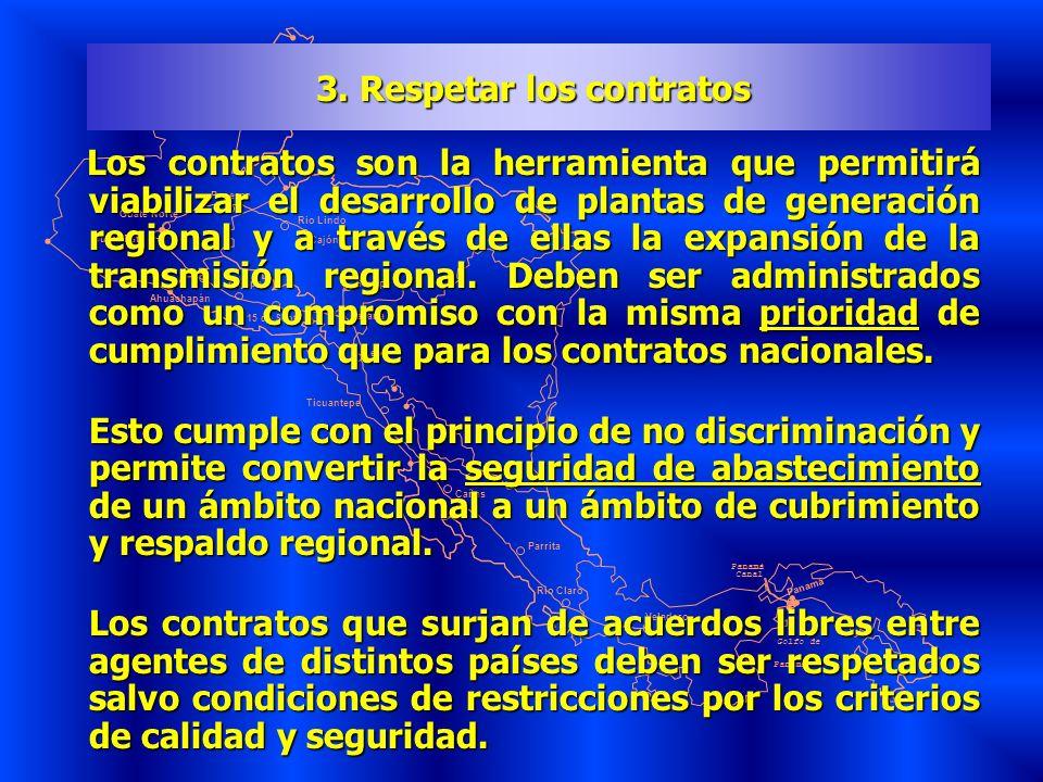 3. Respetar los contratos