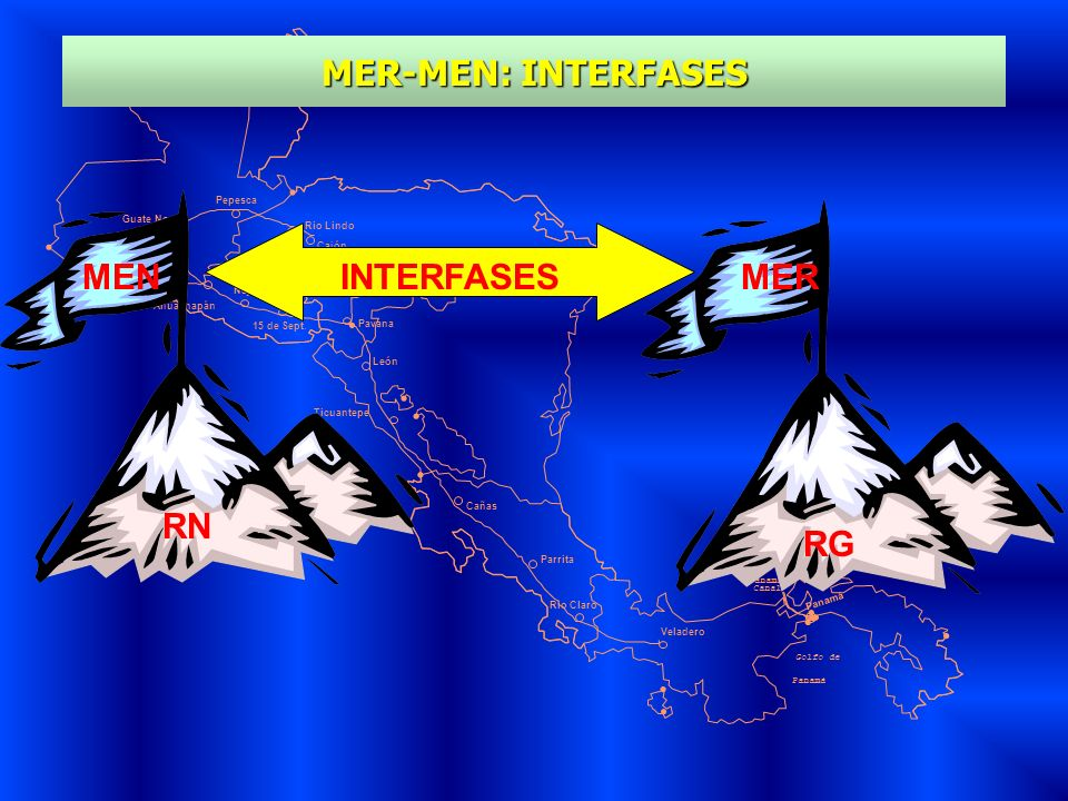 MER-MEN: INTERFASES MEN INTERFASES MER RN RG