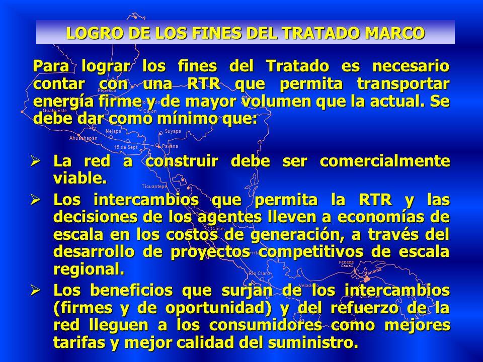 LOGRO DE LOS FINES DEL TRATADO MARCO
