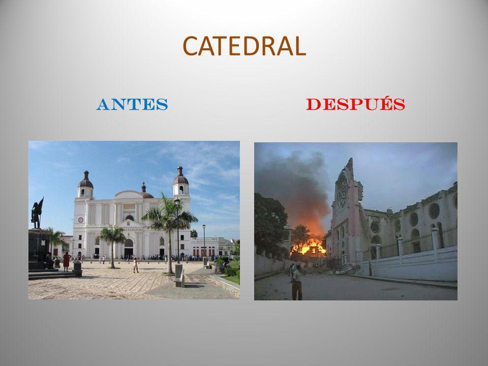 CATEDRAL ANTES DESPUÉS