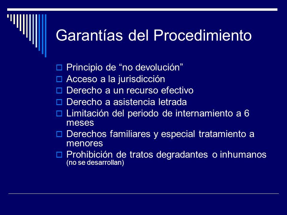 Garantías del Procedimiento