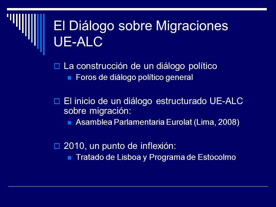 El Diálogo sobre Migraciones UE-ALC