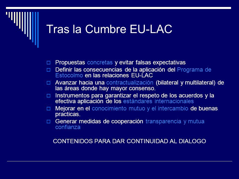 Tras la Cumbre EU-LAC Propuestas concretas y evitar falsas expectativas.
