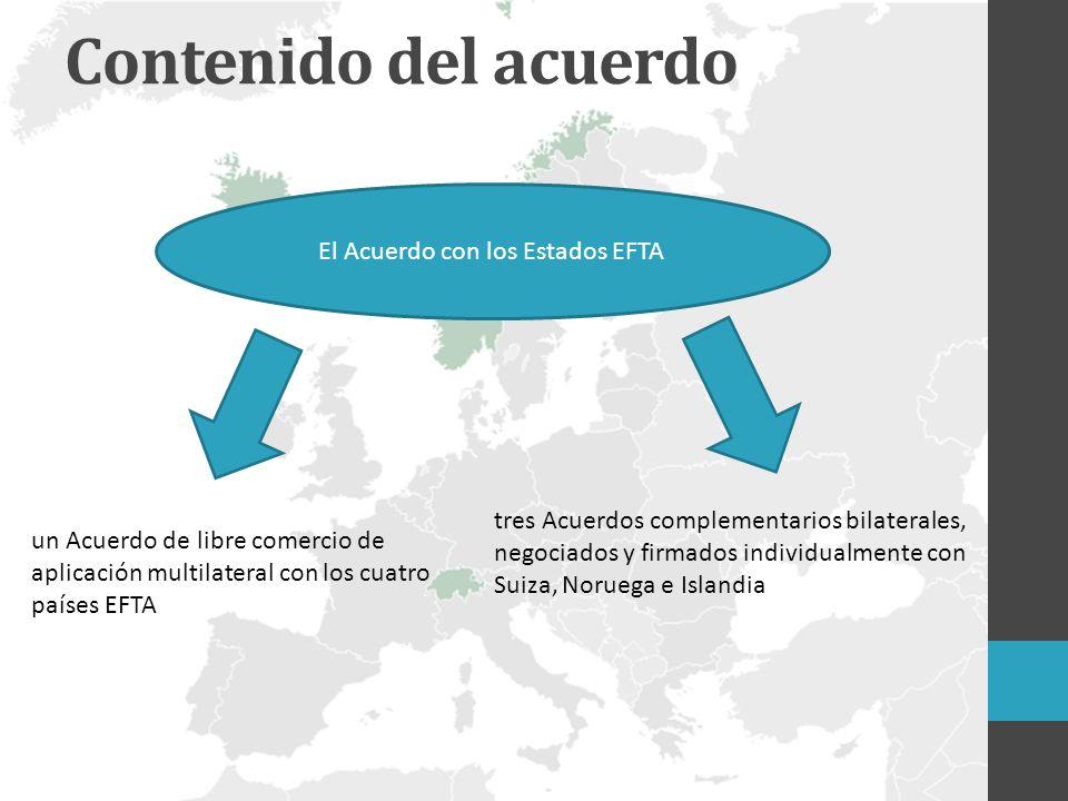 El Acuerdo con los Estados EFTA