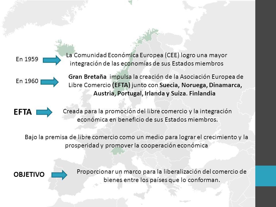 La Comunidad Económica Europea (CEE) logro una mayor integración de las economías de sus Estados miembros