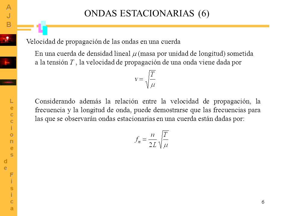 ONDAS ESTACIONARIAS (6)